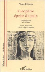 Cléopâtre éprise de paix - Couverture - Format classique