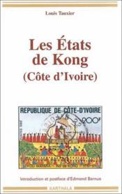 Les états de Kong - Couverture - Format classique