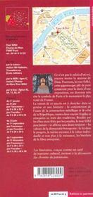 La Tour Eiffel - 4ème de couverture - Format classique