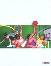 Basket-ball - 4ème de couverture - Format classique