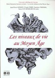 Niveaux De Vie Au Moyen Age - Intérieur - Format classique