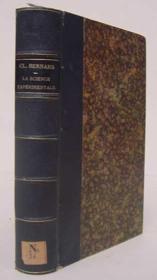 La science expérimentale - Couverture - Format classique