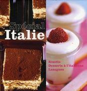 Spécial Italie ; risottos, desserts à l'italienne, lasagnes - Intérieur - Format classique