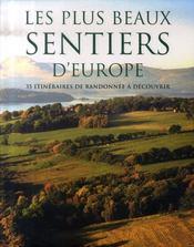 Les plus beaux sentiers d'europe - Intérieur - Format classique
