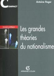 Les grandes théories du nationalisme - Intérieur - Format classique
