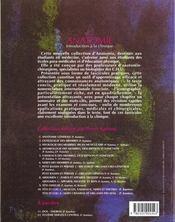 Anatomie ; introduction a la clinique ; t.10 tete et cou ; n.2 nerfs craniens et organes des sens - 4ème de couverture - Format classique