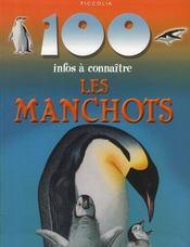 100 Infos A Connaitre ; Les Manchots - Intérieur - Format classique
