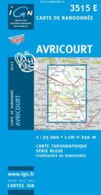 Avricourt - Couverture - Format classique