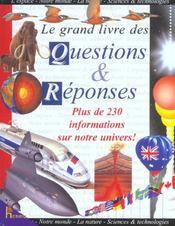 Le Grand Livre Des Questions Et Reponses - Intérieur - Format classique