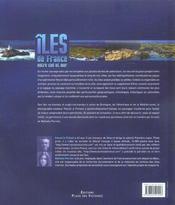 Iles de france ; entre ciel et mer - 4ème de couverture - Format classique