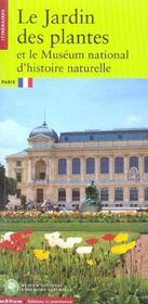 Le jardin des plantes et le museum national d'histoires naturelles - Intérieur - Format classique