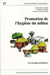 Promotion de l'hygiene du milieu - une strategie participative - Couverture - Format classique