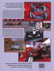 L'année automobile t.48 (édition 2000/2001) - 4ème de couverture - Format classique