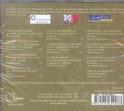 Mémoires de la mer de Colbert à Tabarly - 4ème de couverture - Format classique