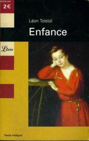 Enfance - Couverture - Format classique