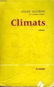 Climats. - Couverture - Format classique