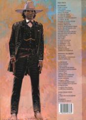 Blueberry T.8 ; l'homme au poing d'acier - 4ème de couverture - Format classique