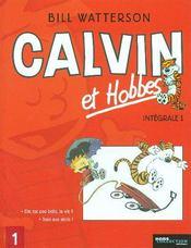 Calvin et Hobbes ; Intégrale vol.1 ; t.8 et t.10 - Intérieur - Format classique