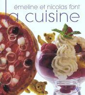 Emeline et nicolas font la cuisine - Intérieur - Format classique