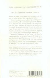 La Navigation Du Faiseur De Pluie - 4ème de couverture - Format classique