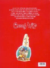 Crazy trip t.1 ; 22°c dans l'eau - 4ème de couverture - Format classique