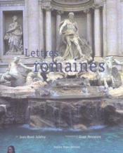 Lettres Romaines - Couverture - Format classique