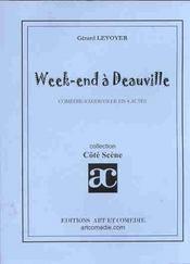 Week-end a deauville ; comedie-vaudeville en 4 actes - Intérieur - Format classique
