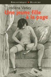 Une jeune fille a la page - Intérieur - Format classique