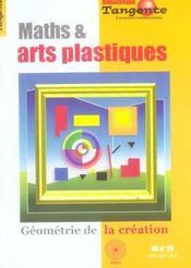 Maths et arts plastiques - Intérieur - Format classique
