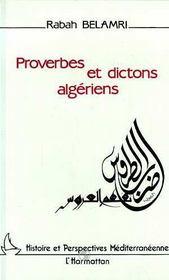 Proverbes et dictons algériens - Intérieur - Format classique