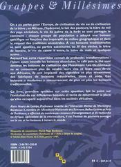 Boissons et civilisations en afrique - 4ème de couverture - Format classique