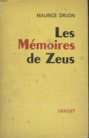 Les Memoires De Zeus - Couverture - Format classique