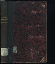 Lettres Apostoliques. Encycliques, Brefs, ... Tome 1. - Couverture - Format classique