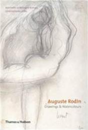 Auguste rodin drawings & watercolours /anglais - Couverture - Format classique