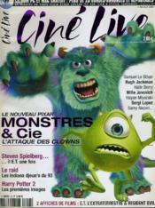 CINE LIVE - N° 56 - Le nouveau Pixar: MONTRES & CIE, l'attaque des clowns - Couverture - Format classique