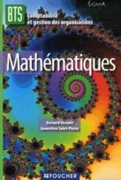 telecharger Mathematiques – bts cgo livre PDF en ligne gratuit
