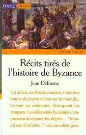 Recits tires de l'histoire de byzance - Intérieur - Format classique