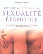 Pratiques taoistes pour une sexualite epanouie - Intérieur - Format classique