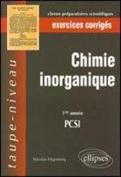 Inorganique - Intérieur - Format classique