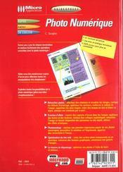 Guidexpress Photo Numerique - 4ème de couverture - Format classique