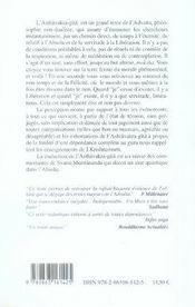 Soi ; l'expérience de l'absolu selon l'asthâvakra-gîtâ - 4ème de couverture - Format classique