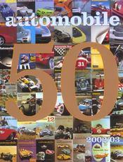 L'année automobile t.50 (édition 2002/2003) - Intérieur - Format classique