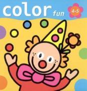Color Fun (4-5 A.) - Couverture - Format classique