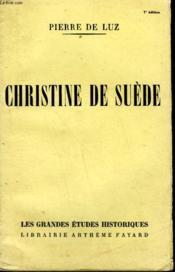 Christine De Suede. - Couverture - Format classique