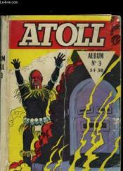 Atoll Album N°3 Du N° 11 Au N°12 - Couverture - Format classique