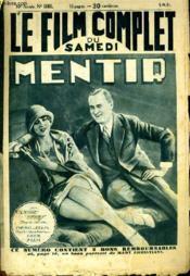 Le Film Complet Du Samedi N° 1061 - 10e Annee - Mentir - Couverture - Format classique