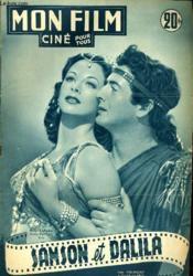 Mon Film N° 283 - Sanson Et Dalila - Couverture - Format classique