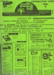 Catalogue 27 Radio Mj - Couverture - Format classique