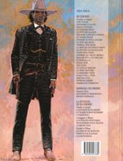 Blueberry T.10 ; général Tête Jaune - 4ème de couverture - Format classique