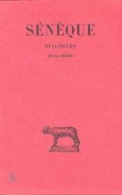 Dialogues t.1 ; de la colère - Couverture - Format classique